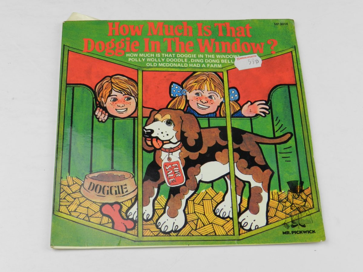 Unknown Artist – How Much Is That Doggy In The Window vinyl record sleeve scaled