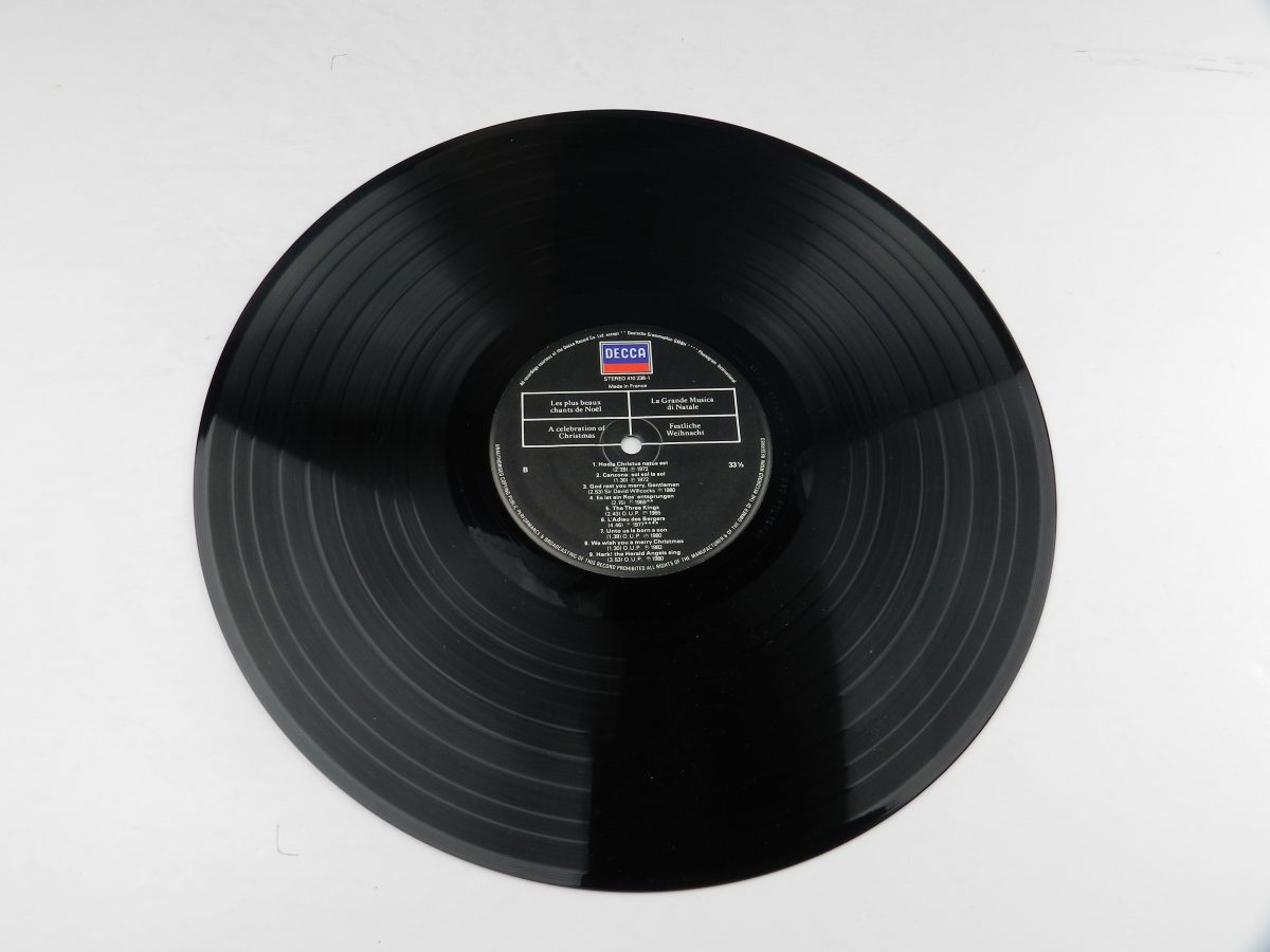 Various – A Celebration Of Christmas vinyl record side B scaled