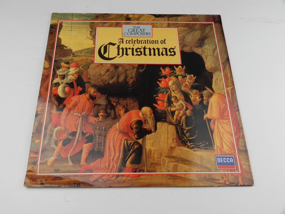 Various – A Celebration Of Christmas vinyl record sleeve scaled