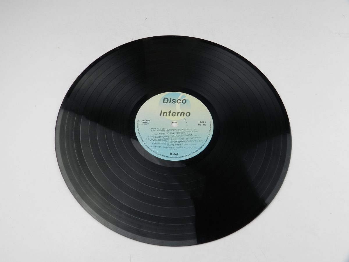 Various – Disco Inferno vinyl record side A scaled