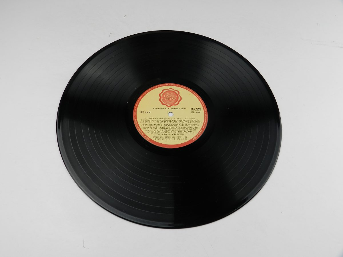 Various – 20 Originals From The Country And Western Hall Of Fame vinyl record side A scaled