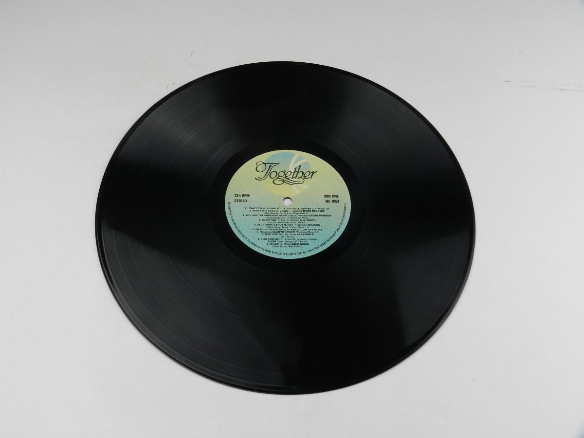 Various – Together vinyl record side A scaled