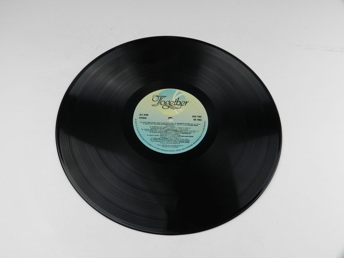 Various – Together vinyl record side B scaled